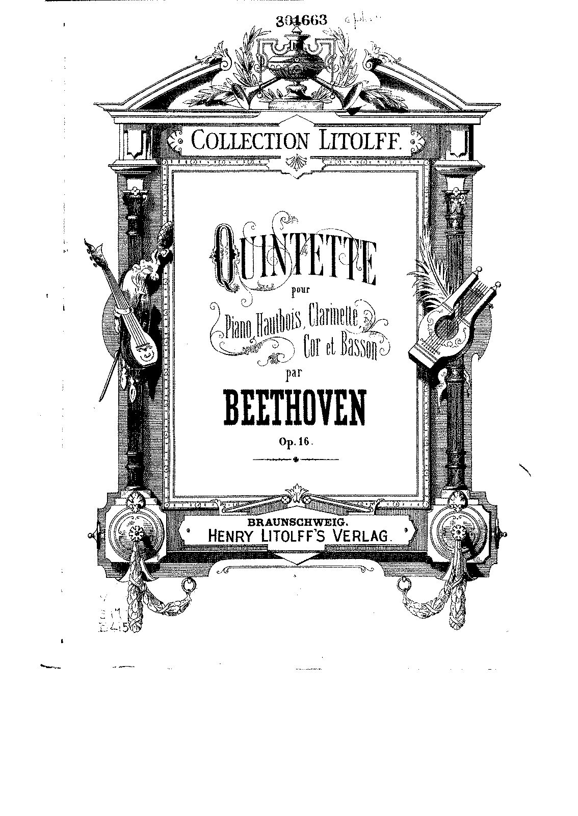 Quintet in E-flat major, Op.16 (Beethoven, Ludwig van