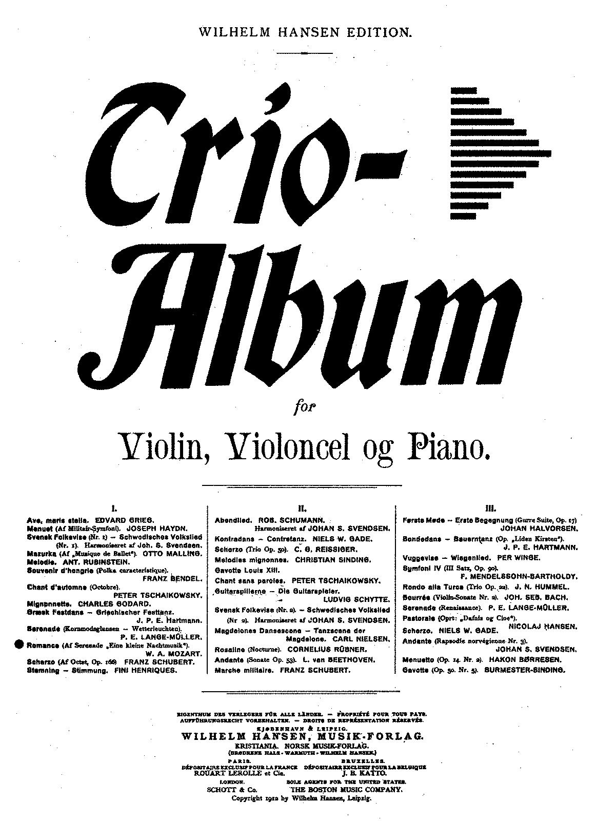 Eine kleine Nachtmusik, K.525 (Mozart, Wolfgang Amadeus
