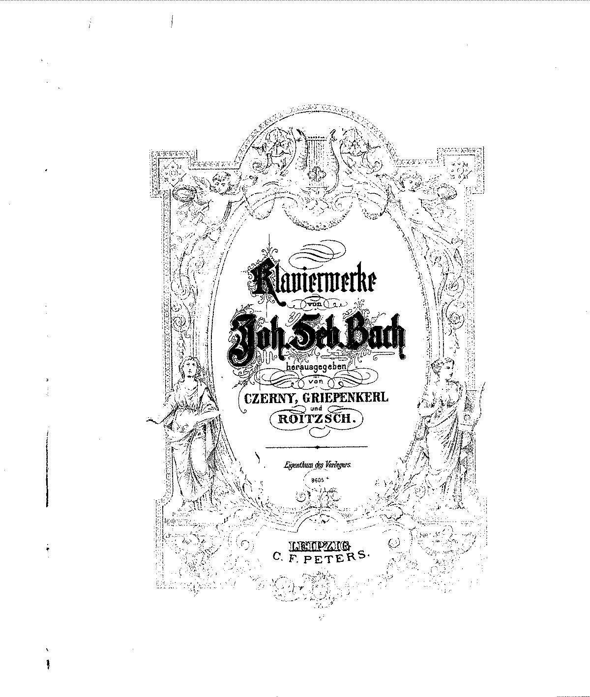 Fantasia and Fugue in C minor, BWV 906 (Bach, Johann