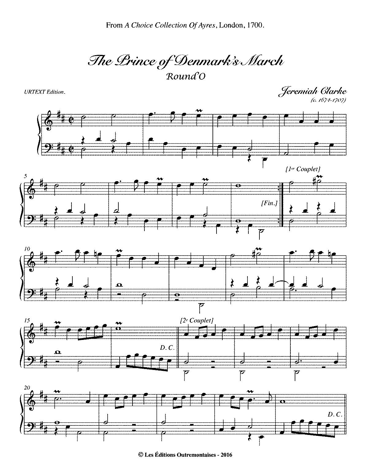 Clarke's Trumpet Voluntary