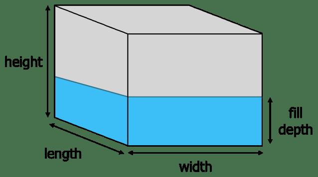 Tank Volume Calculator - Inch Calculator