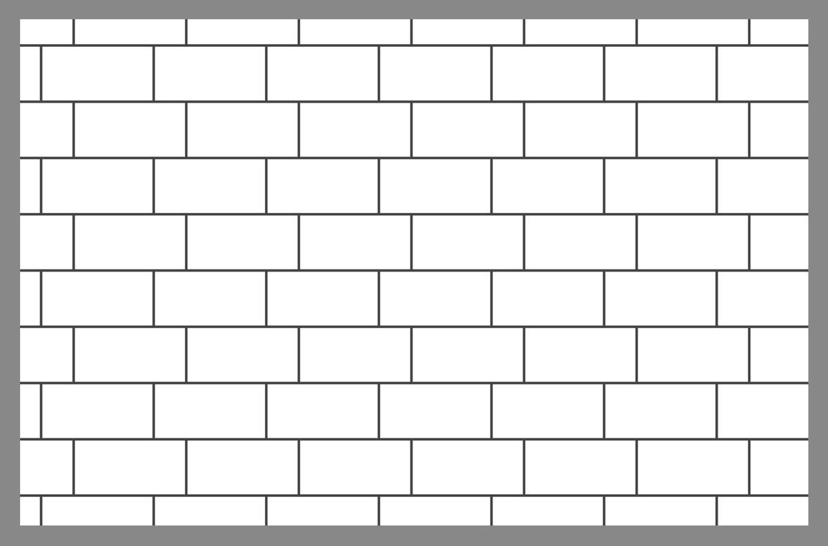 tile and paver layout patterns inch