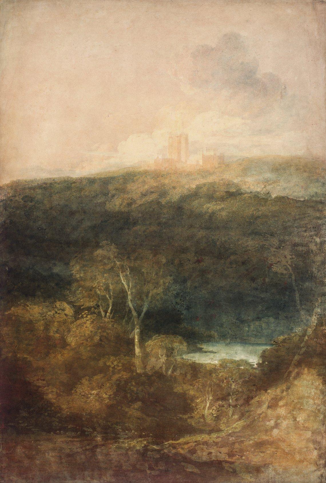 Turner Watercolor Paintings : turner, watercolor, paintings, J.M.W., Turner:, Watercolors, Nicholas, Incollect