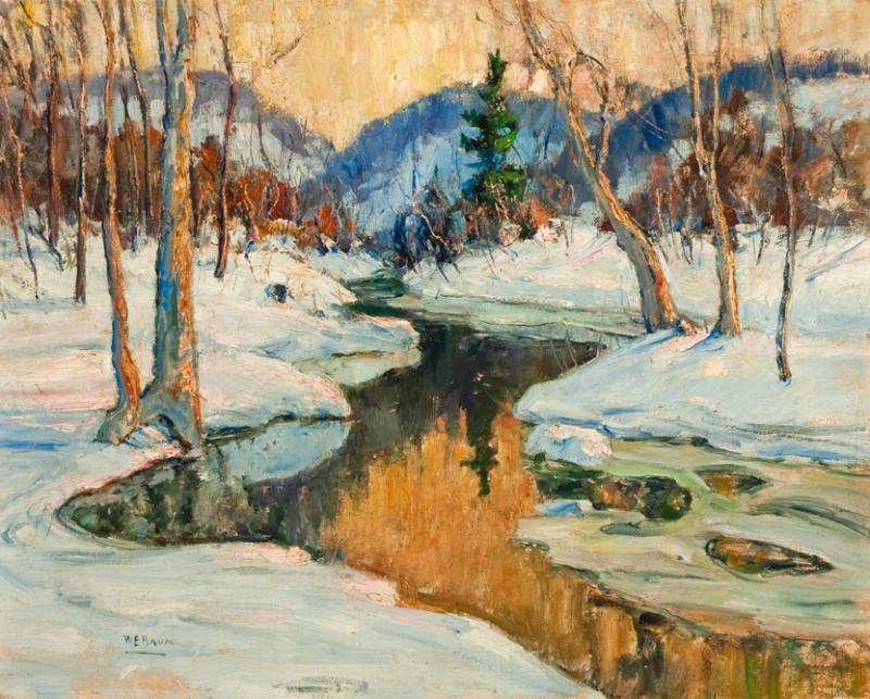 Walter Emerson Baum  Snowbound