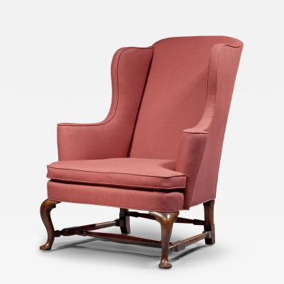 queen anne wing chair lowes plastic adirondack chairs