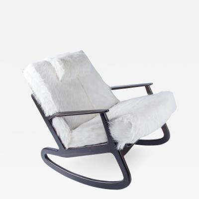 vladimir kagan rocking chair 3 position full recline lift in the manner of