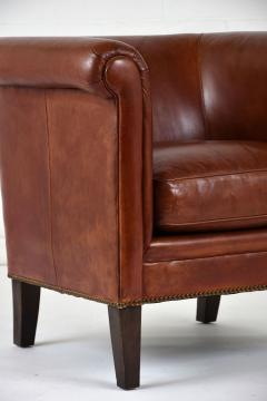 bernhardt brown leather club chair custom poker tables and chairs furniture company pair of regency style by 511028