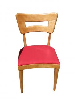 heywood wakefield dogbone chairs dining chair upholstery fabric online m154 set of six 59687