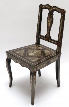 children's desk chair jules leather chairs of bath ibsen italian ebony and bone inlay marquetry secretaire with