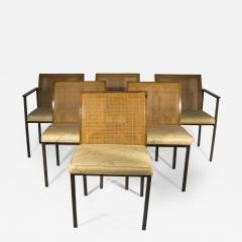 Dining Chairs With Caning Chair King Distribution Center Houston Tx Milo Baughman Bronze And Cane Set Of 6 450337