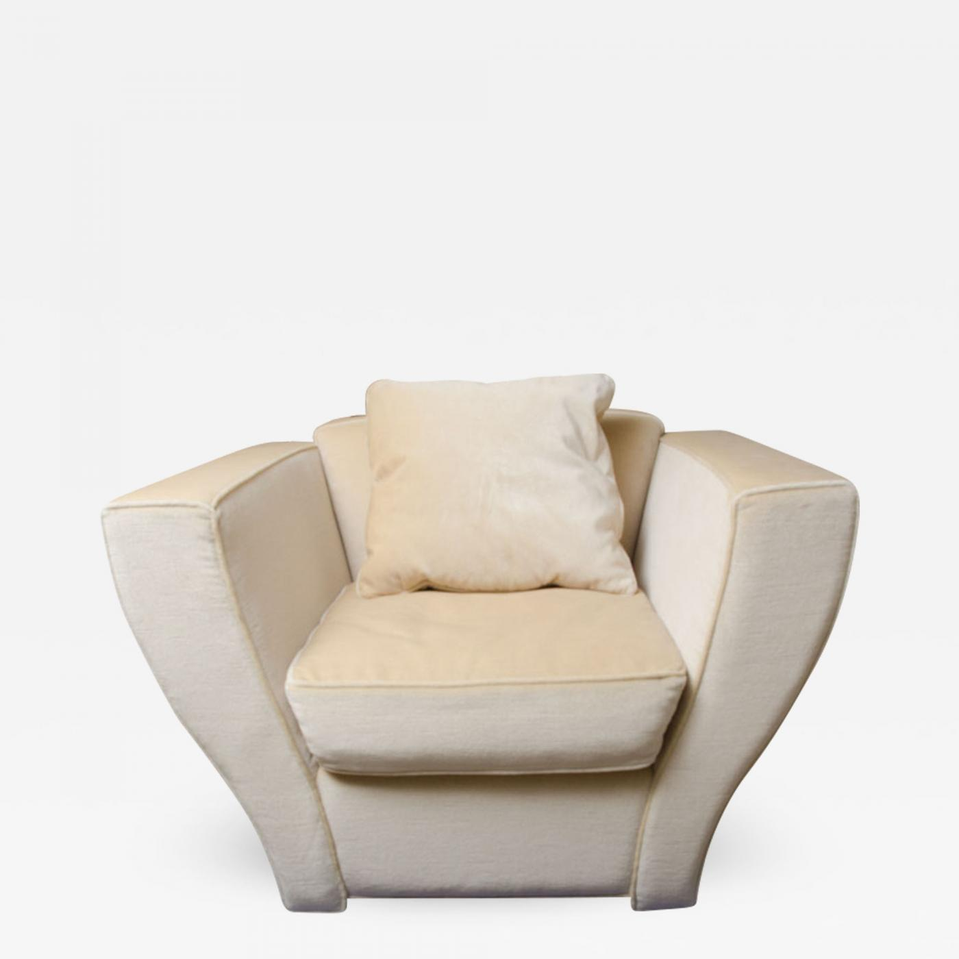 oversized upholstered chair wheelchair size brueton lounge in mohair