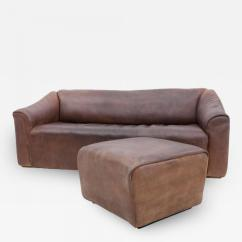 De Sede Sleeper Sofa Recliner Leather Corner Bed Ds 47 With Ottoman