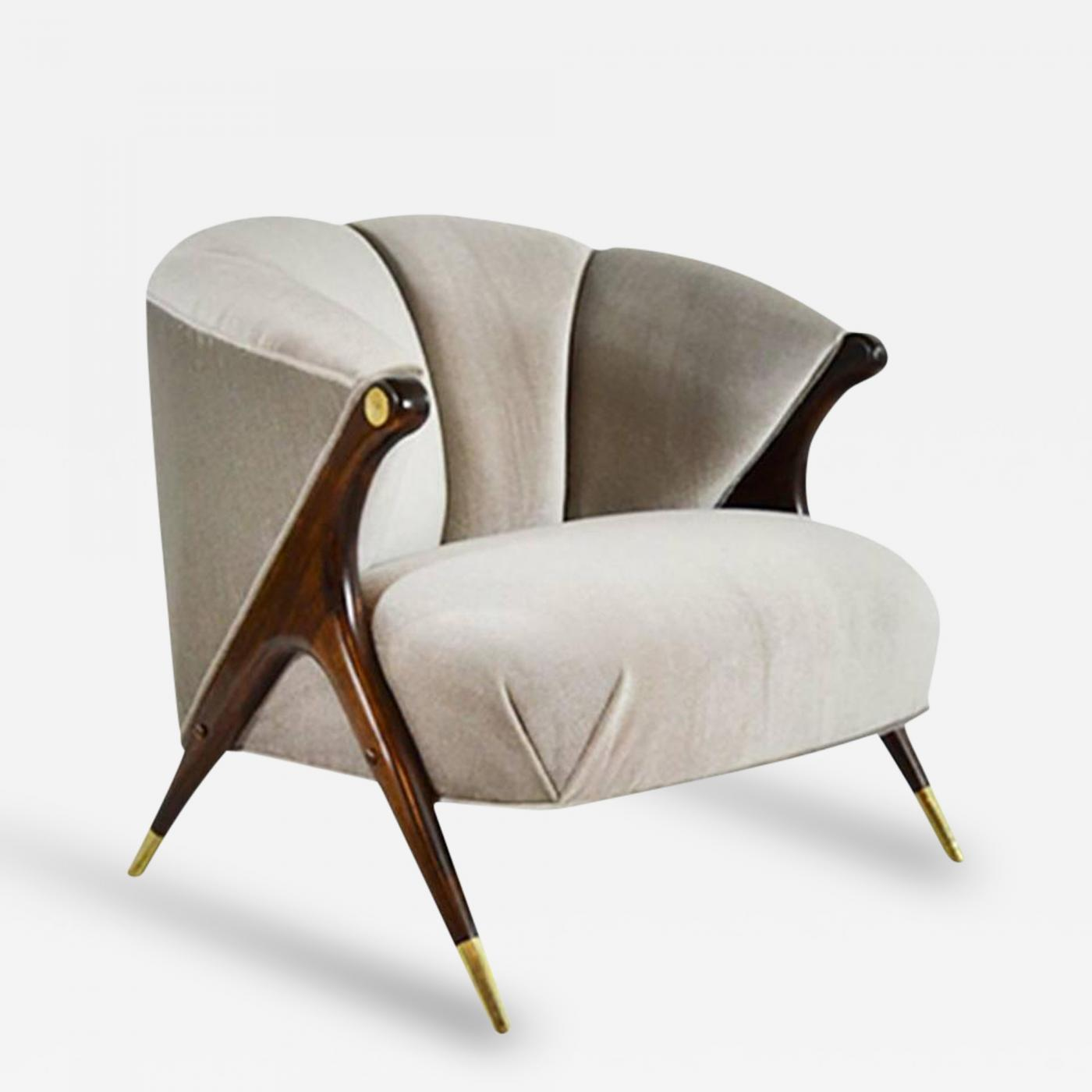 Karpen Of California Modernist Lounge Chair By Karpen Of