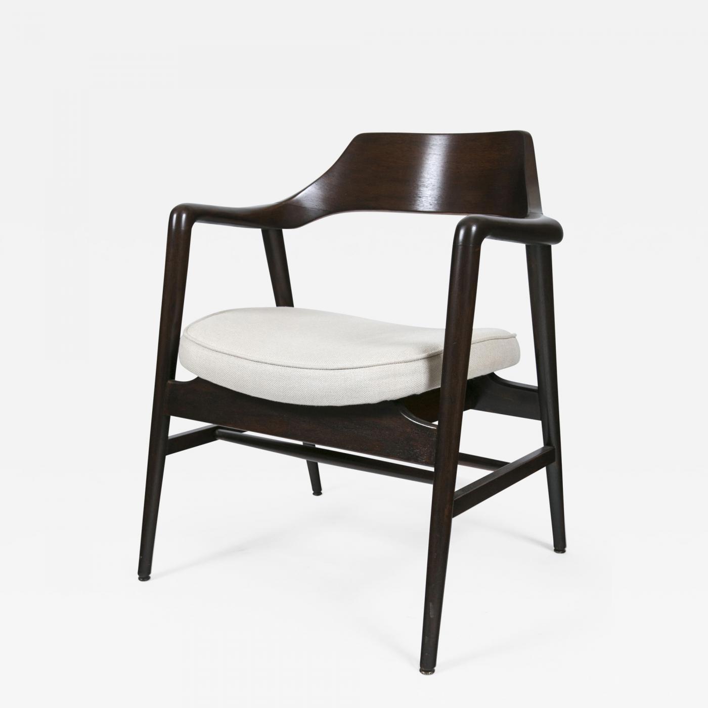 wh gunlocke chair artifort orange slice w h co wood framed arm