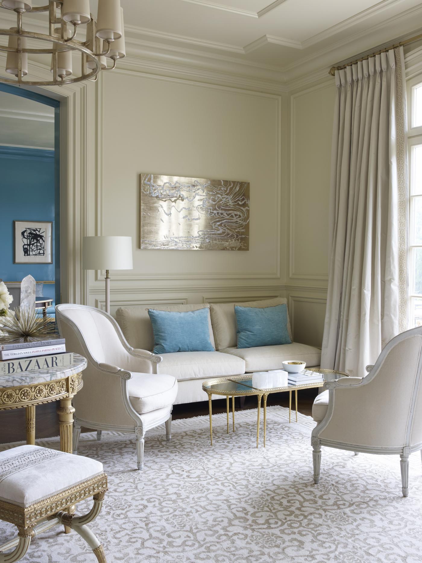 Suzanne Kasler Brilliantly Unites Color  Elegance by Suzanne Kasler Interiors