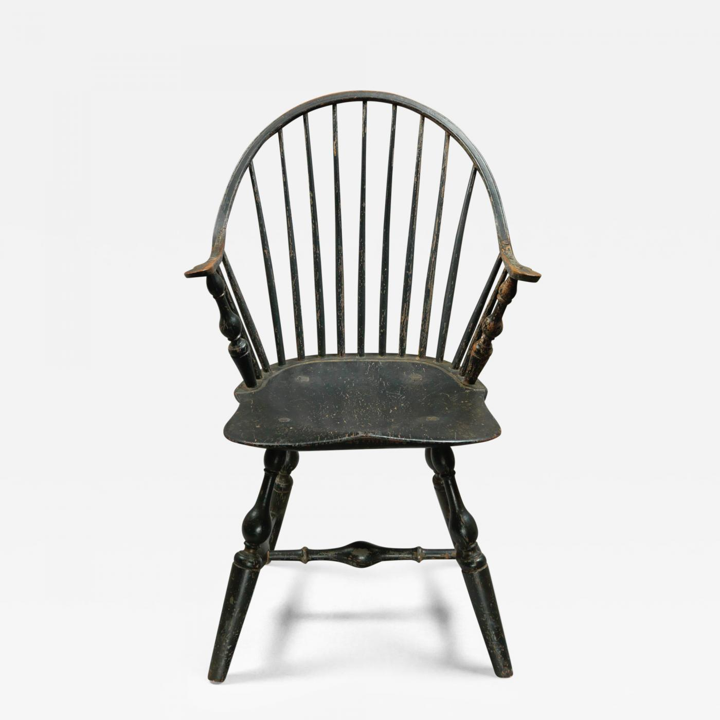 windsor chair with arms swing hook a continuous arm