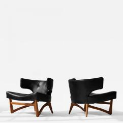 Adrian Pearsall Lounge Chair Web Lawn Pair Of Chairs
