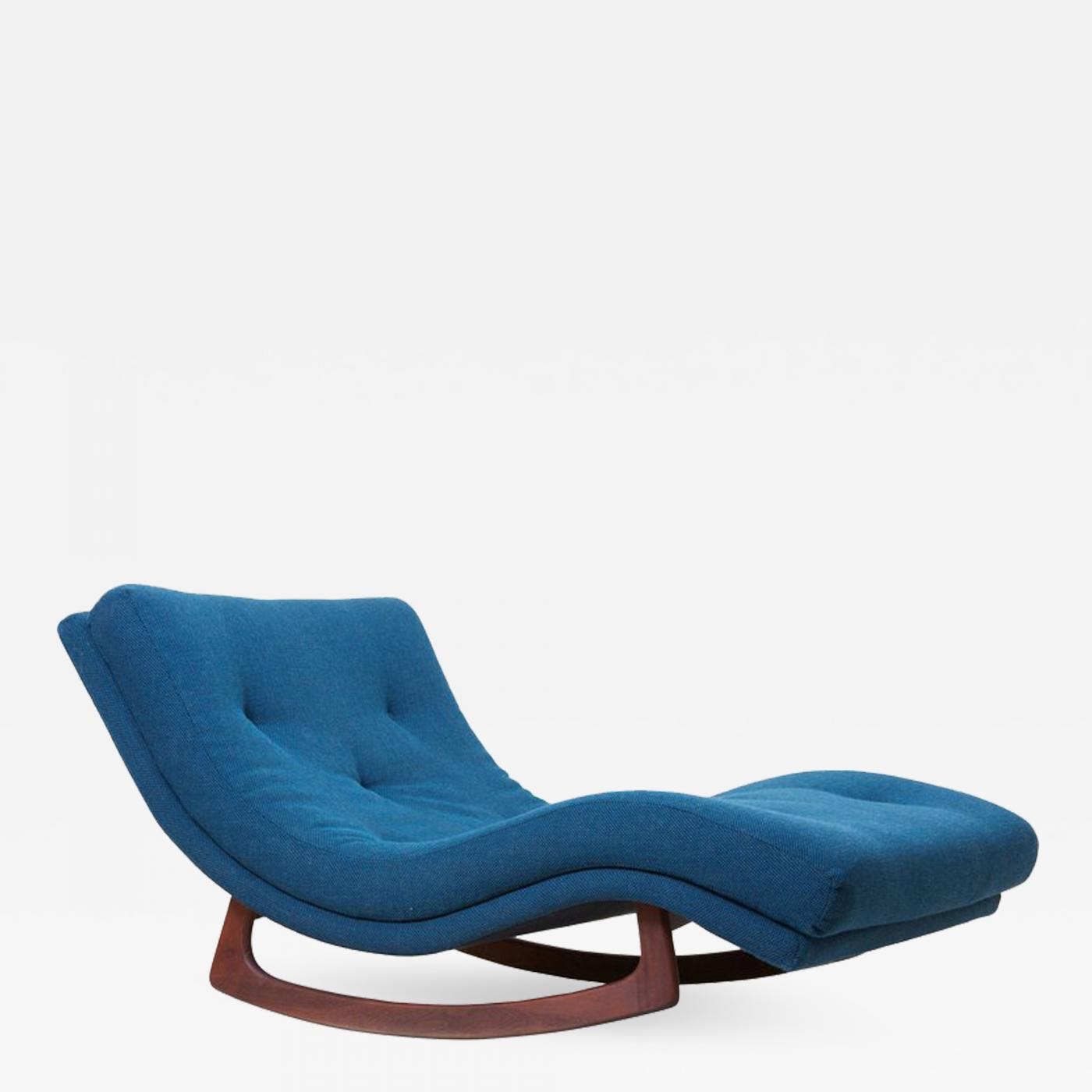 adrian pearsall rocking chair parson covers target signed chaise in kvadrat fabric