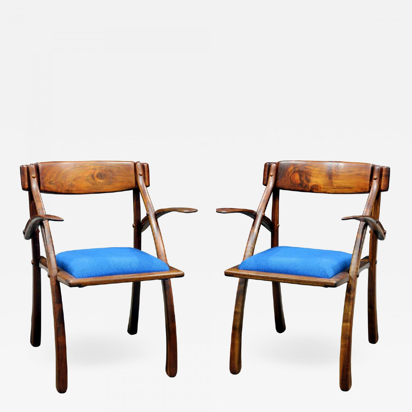 Wishbone Chairs Arthur Espenet Carpenter Rare Pair Of Wishbone Chairs By Arthur Espenet Carpenter