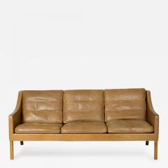 Borge Mogensen Sofa Model 2209 Target Futons And Beds Three Seat Leather
