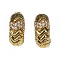 Bvlgari (Bulgari) - Bulgari Spiga Earrings