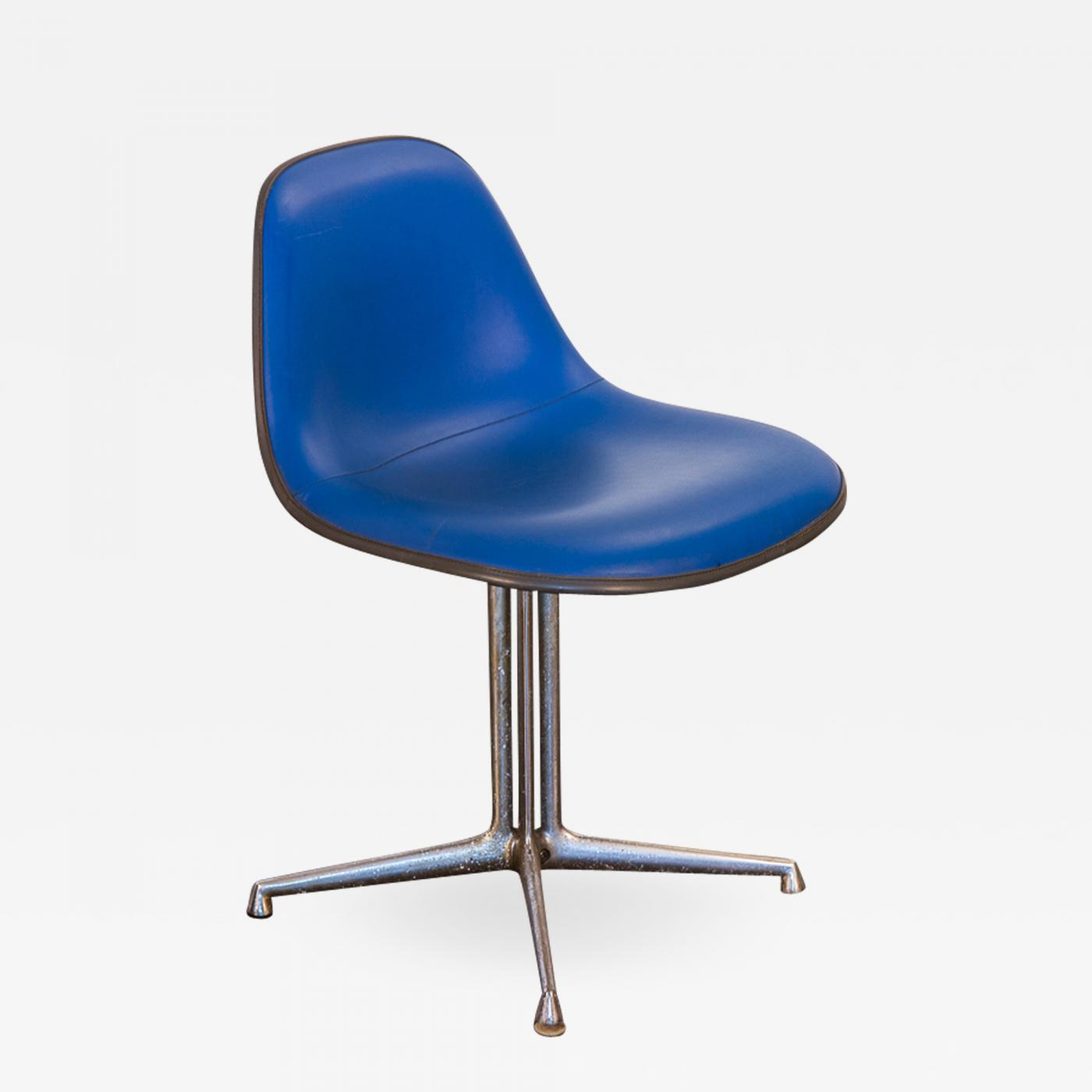 Eanes Chair Charles And Ray Eames Blue La Fonda Eames Chair