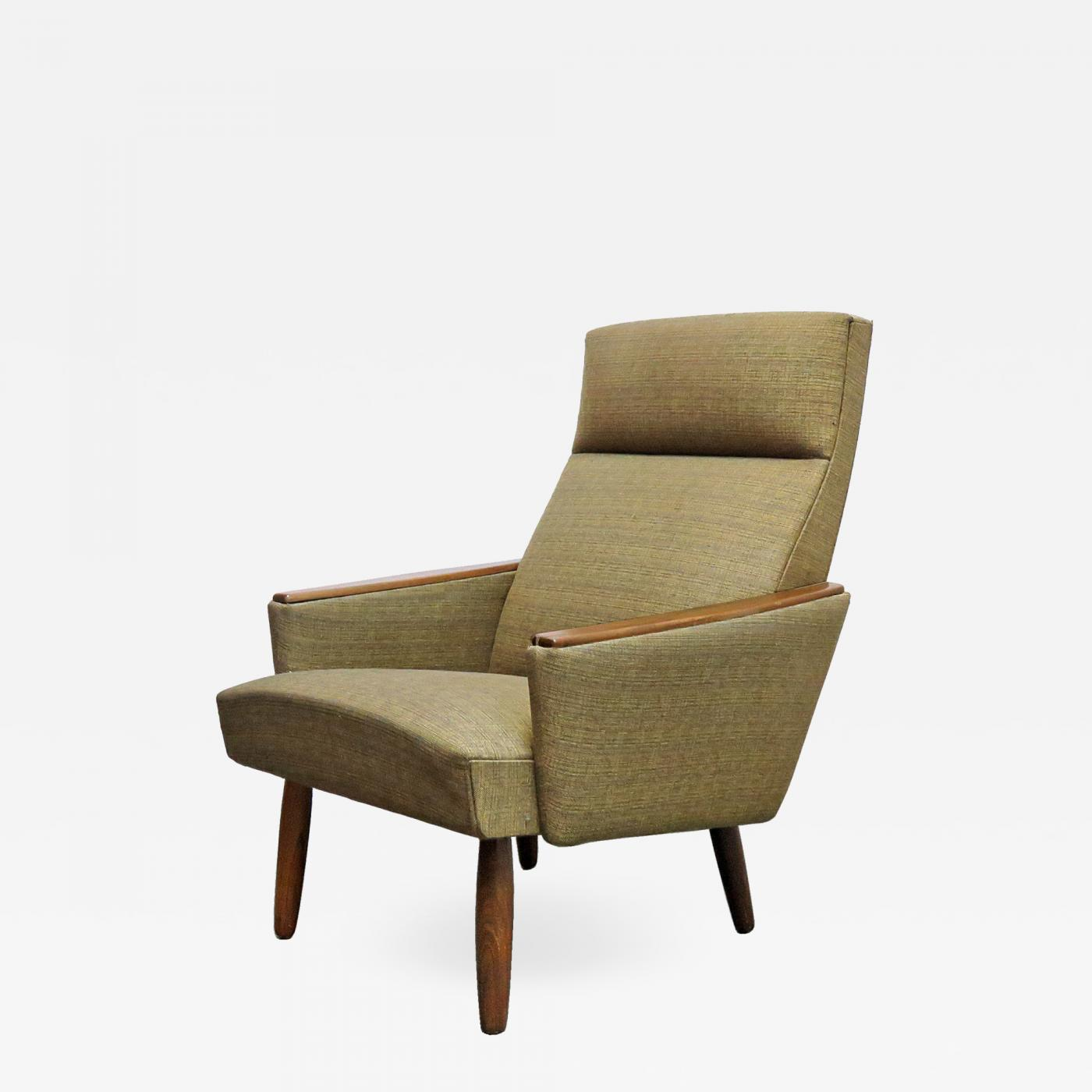 Danish Modern Lounge Chair Danish Modern Lounge Chair