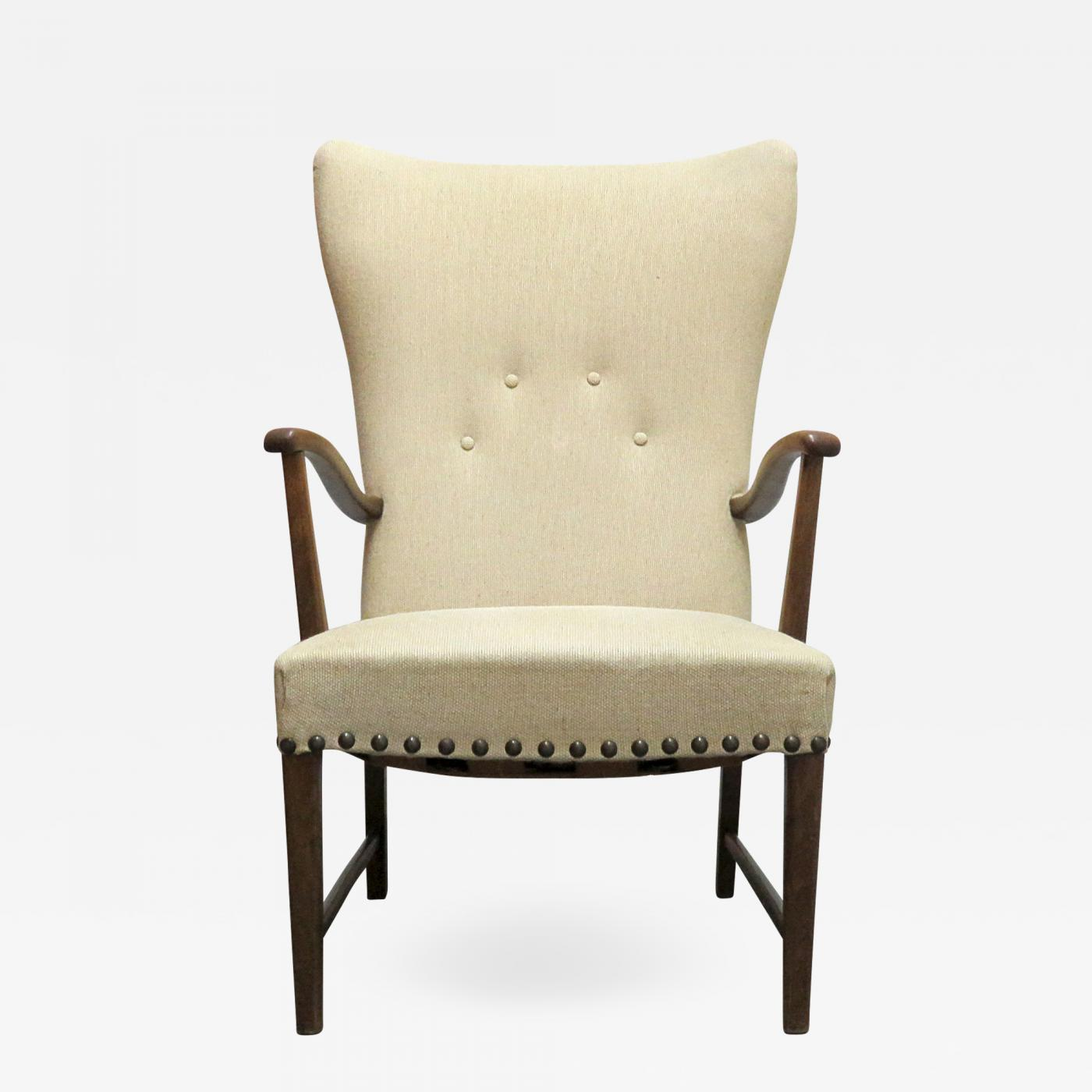 Modern Wing Chair Danish Modern Wingback Lounge Chair