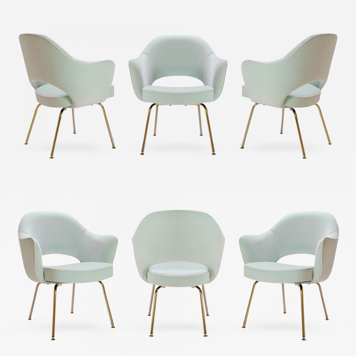 Eero Saarinen Saarinen Executive Arm Chairs In Mint