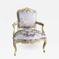 Louis Xv Chair Target Foldable Lawn Chairs Fine 19th Century Giltwood Armchair Listings Furniture Seating Fancy