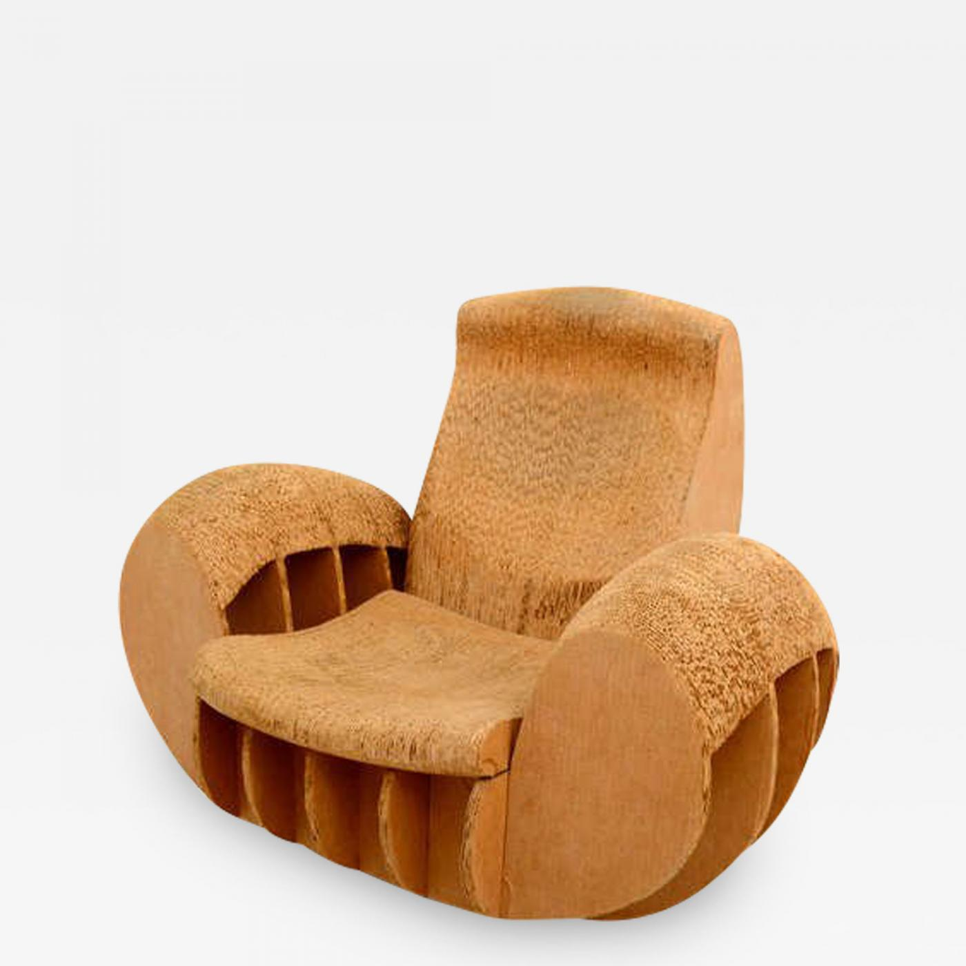 frank gehry cardboard chairs discount lift rocker easy edges attributed to o