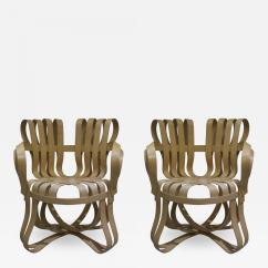 Frank Gehry Chair Pottery Barn Nursery Reviews Pair Of Cross Check Bentwood Arm Chairs