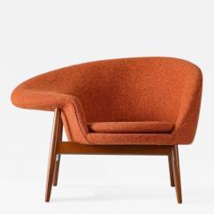 Fried Egg Chair Lightweight Backpack Hans Olsen Lounge