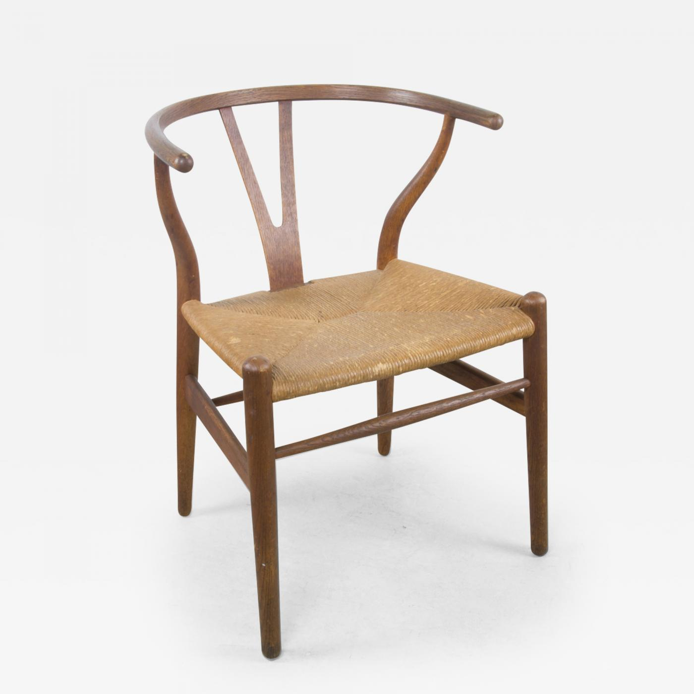 Wishbone Chairs Hans Wegner Early Hans Wegner Ch24 Wishbone Chair