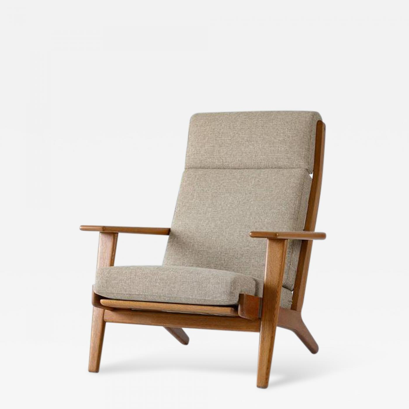 High Back Lounge Chair Hans Wegner Hans Wegner Ge 290 High Back Lounge Chair
