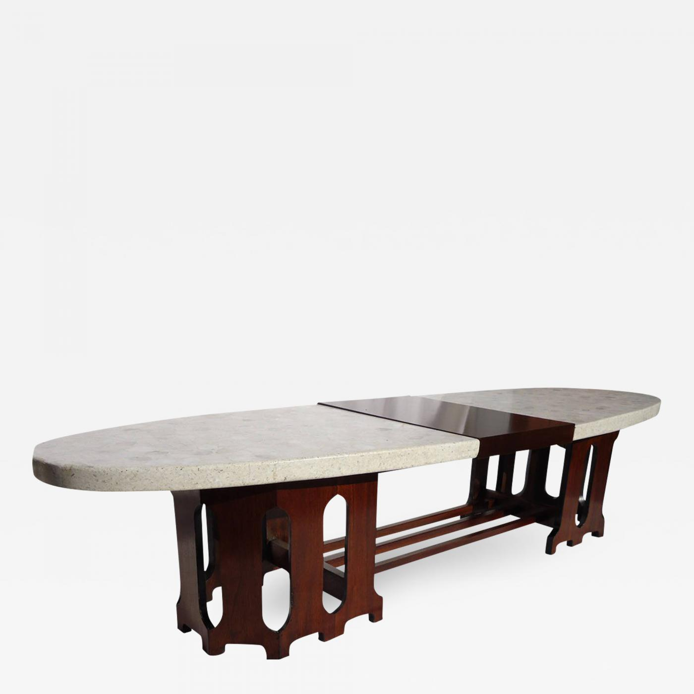 harvey probber harvey probber mid century terrazzo marble top coffee table circa 1955