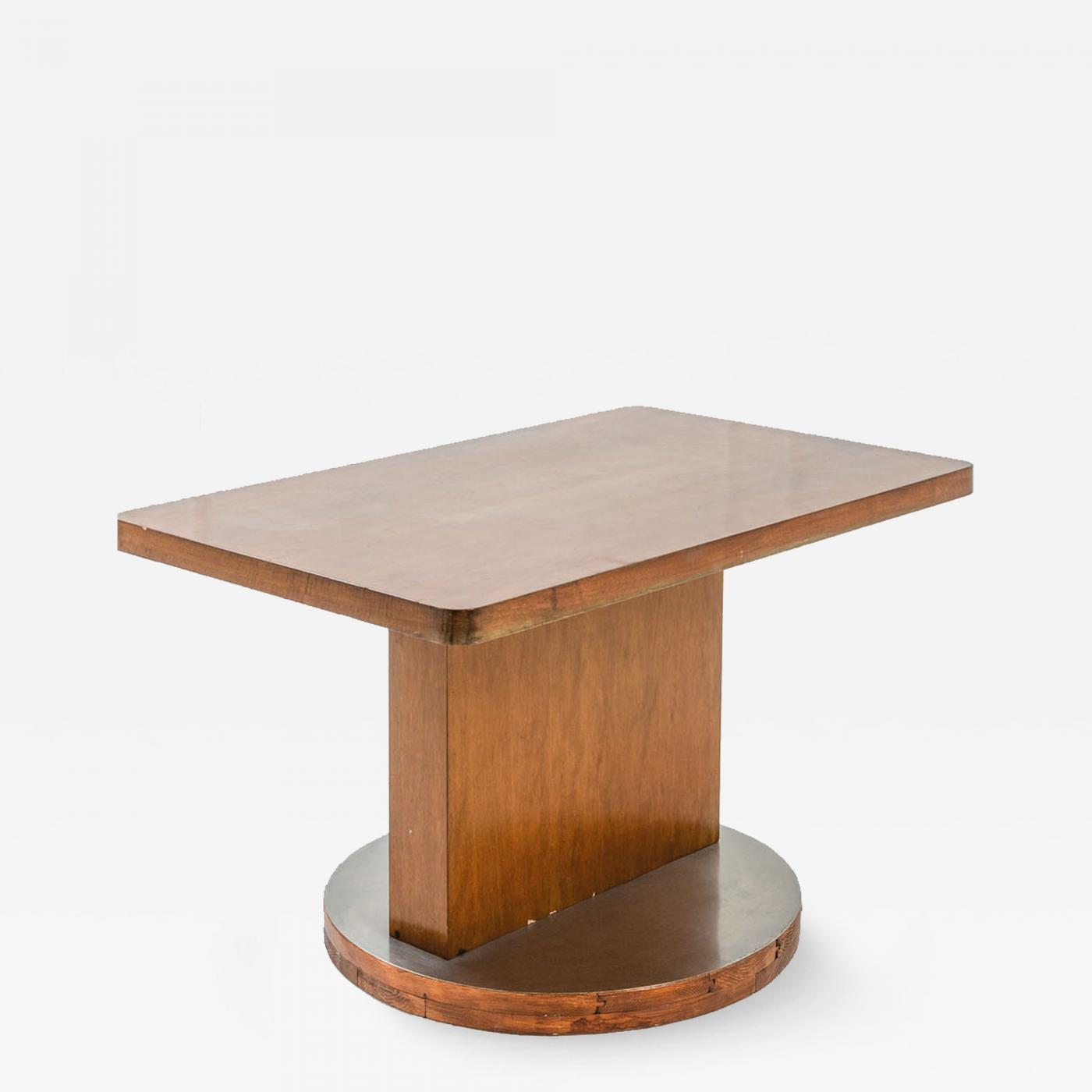 ico parisi center table in wood by ico parisi