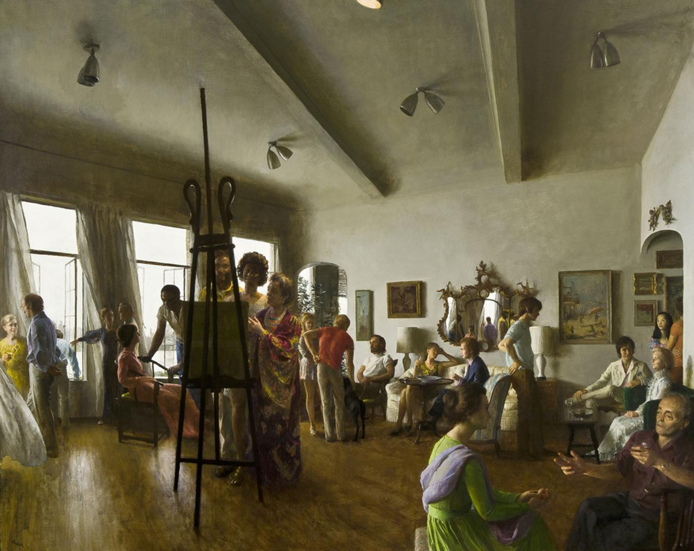 art paintings for living room safari decor john koch - the party