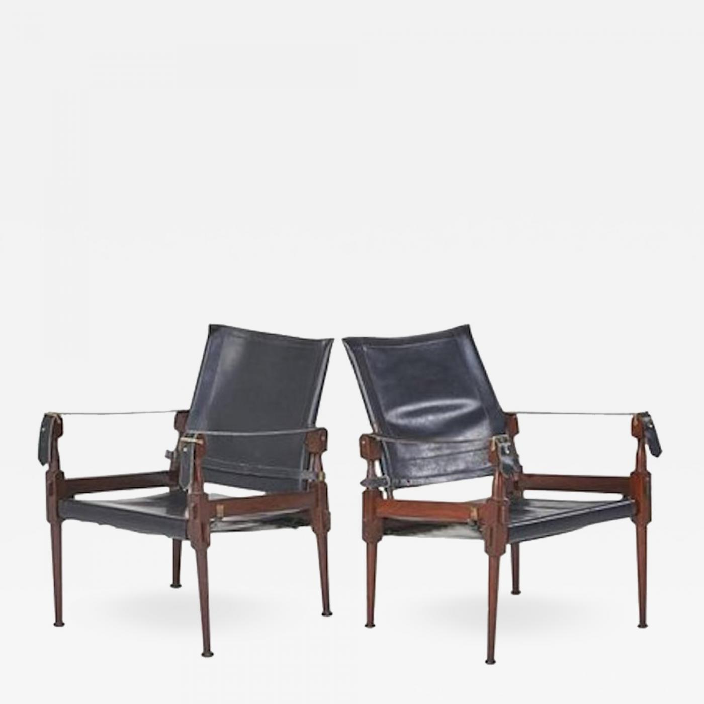 Safari Chairs Kaare Klint Pair Of
