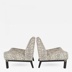 Modern Slipper Chair Banquet Covers Wholesale Pair Of 1940s Chairs