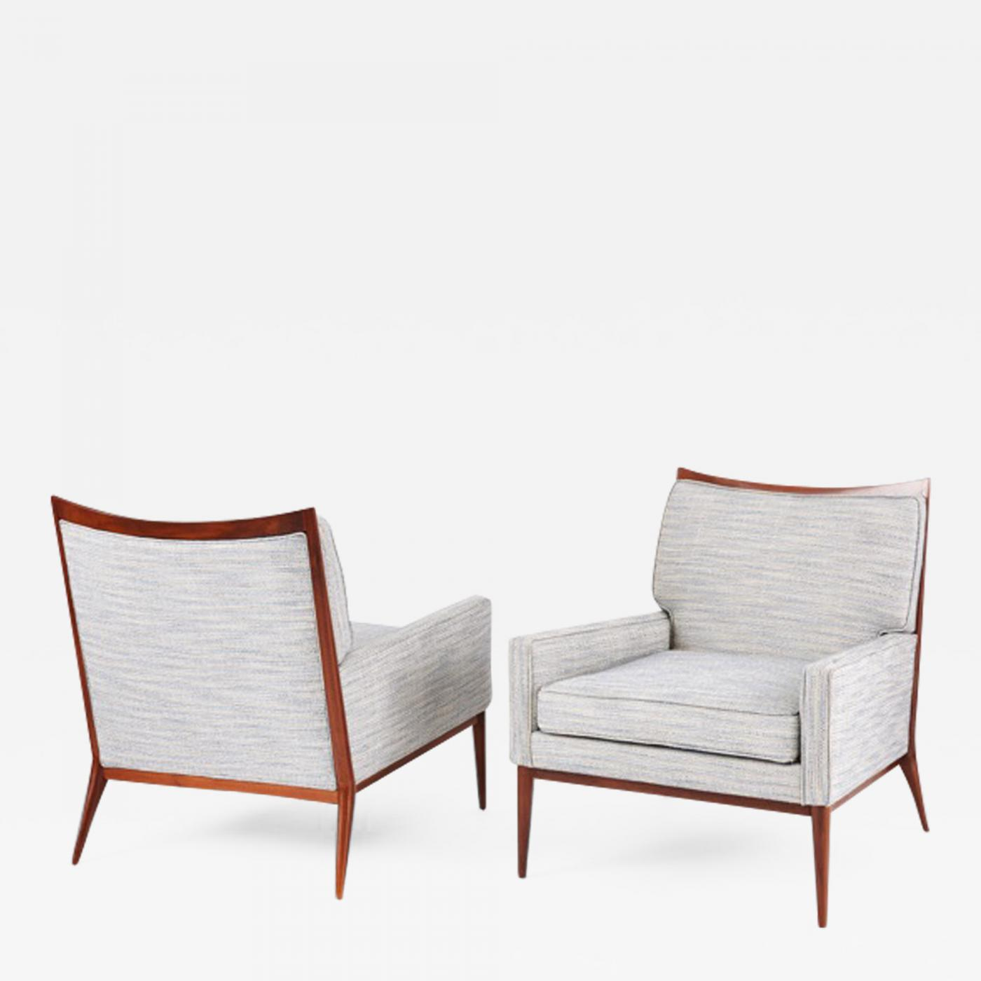 Paul Mccobb Chairs Paul Mccobb Pair Of Paul Mccobb Lounge Chairs