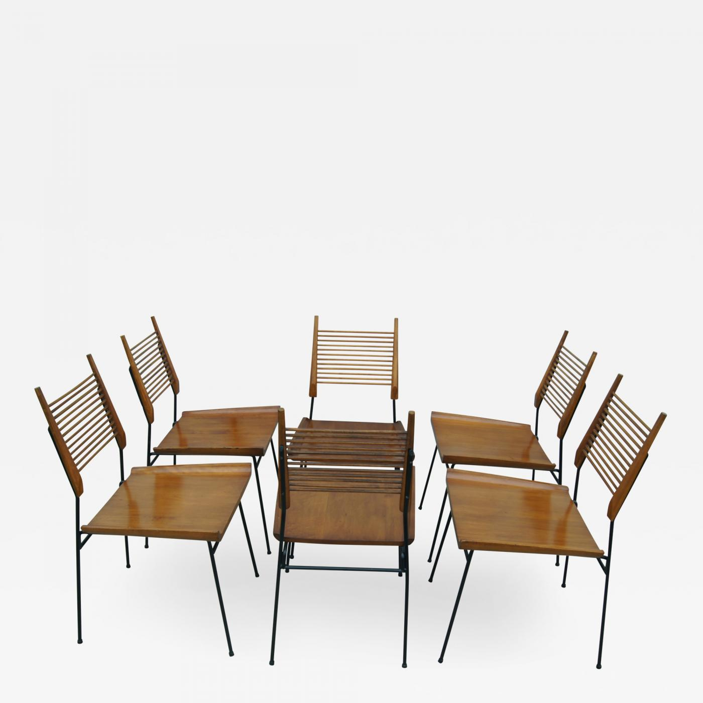Paul Mccobb Chairs Paul Mccobb Set Of Six Dining Chairs By Paul Mccobb For Winchendon