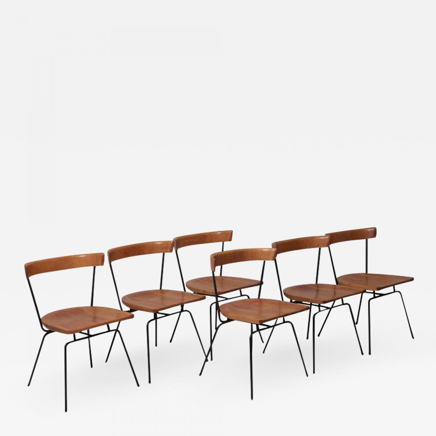 Paul Mccobb Chairs Paul Mccobb Set Of Six Matched 1535 Paul Mccobb Planner Group Dining Chairs For Winchendon