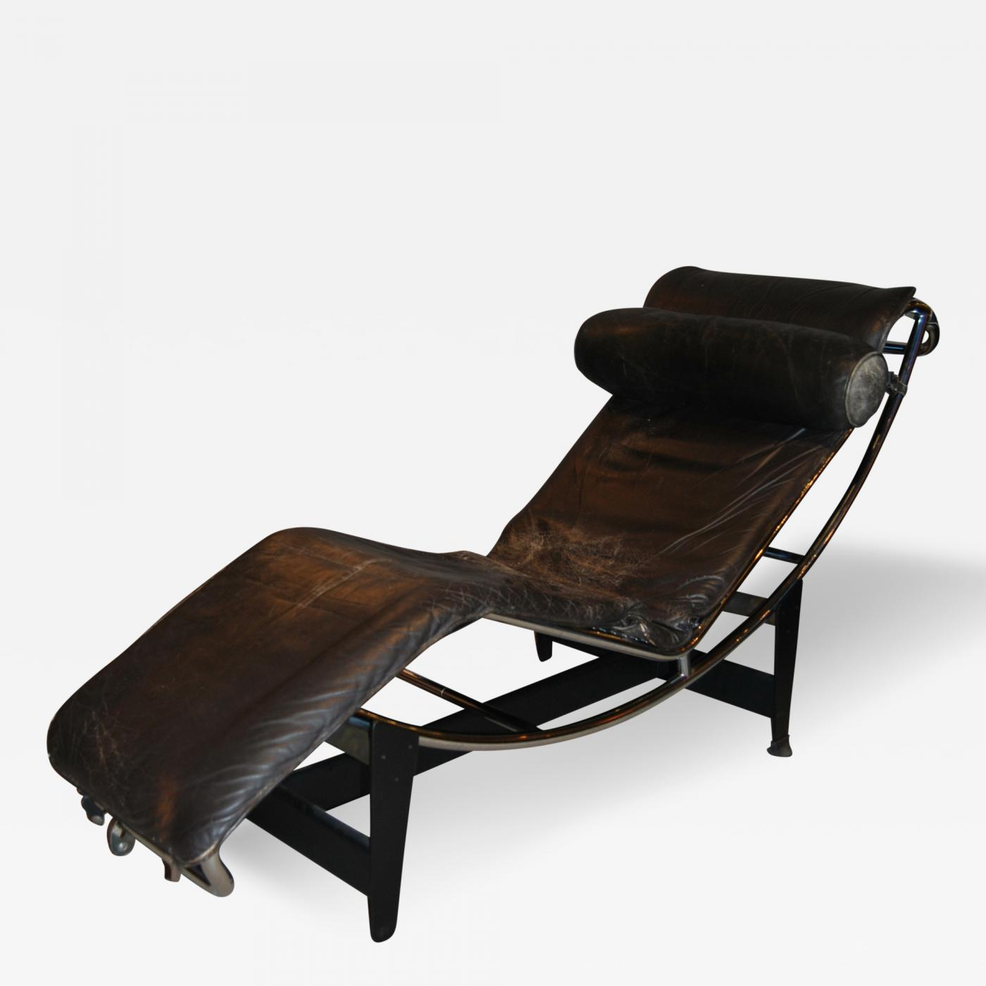 corbusier lounge chair geri chairs for elderly le jeanneret perriand early