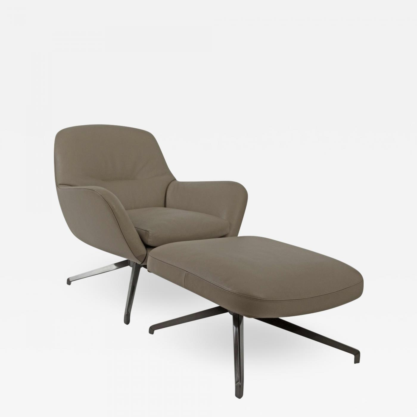 Chairs With Ottoman Rodolfo Dordoni Rodolfo Dordoni Minotti Jensen Swivel Chair Ottoman