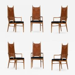 Danish Modern Dining Chair Dark Chocolate Chairs Set Of Six High Back Cathedral Tap To Expand Click On Image Enlarge