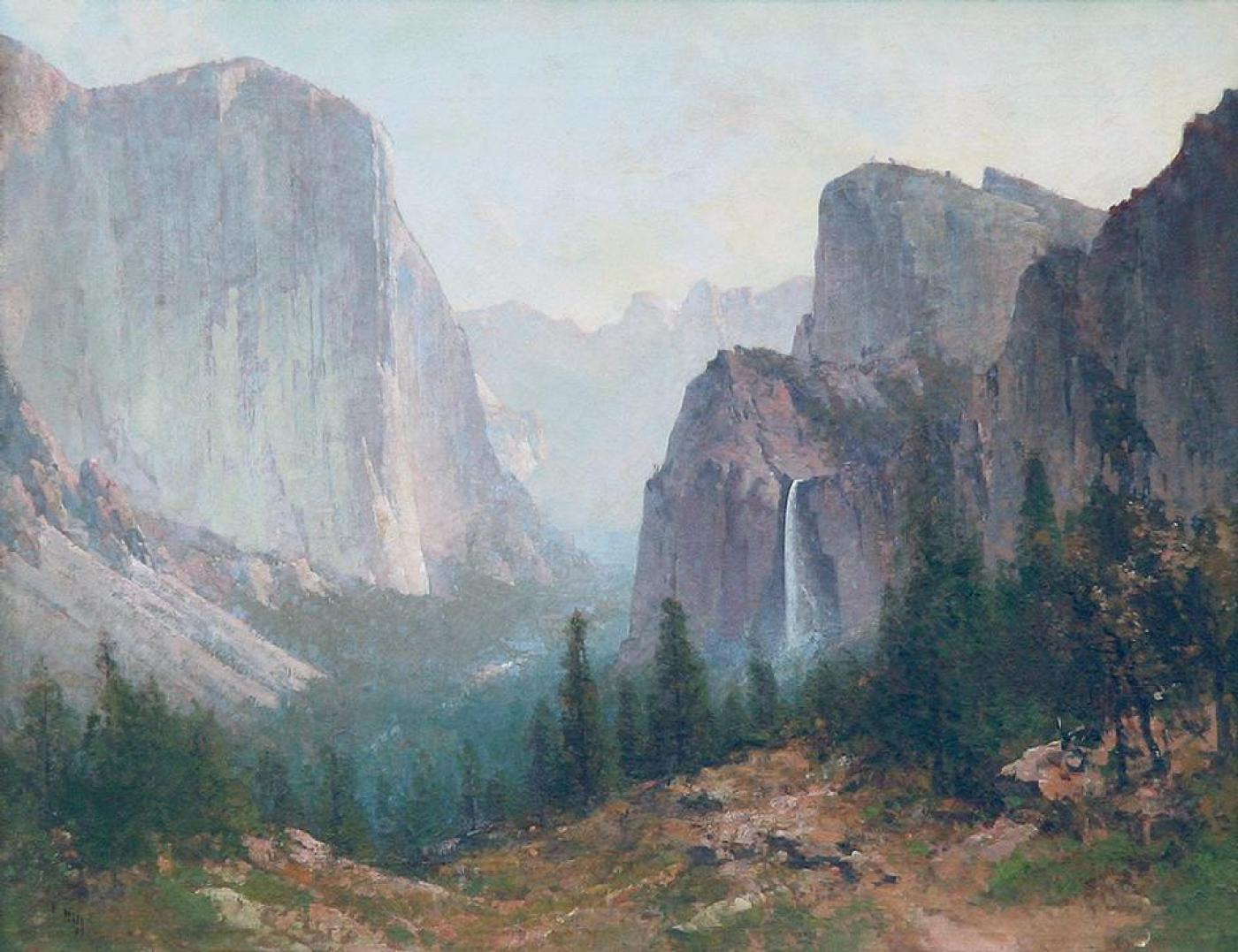 Thomas Hill  Yosemite Valley