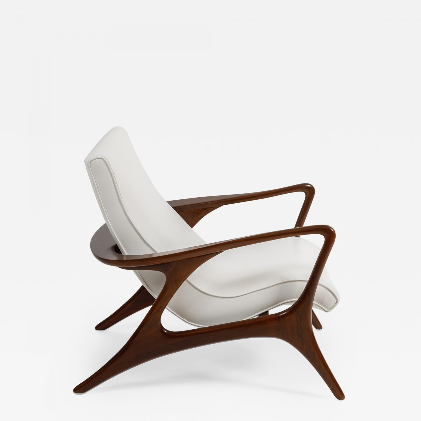 Contour Chair Lounge Vladimir Kagan Early