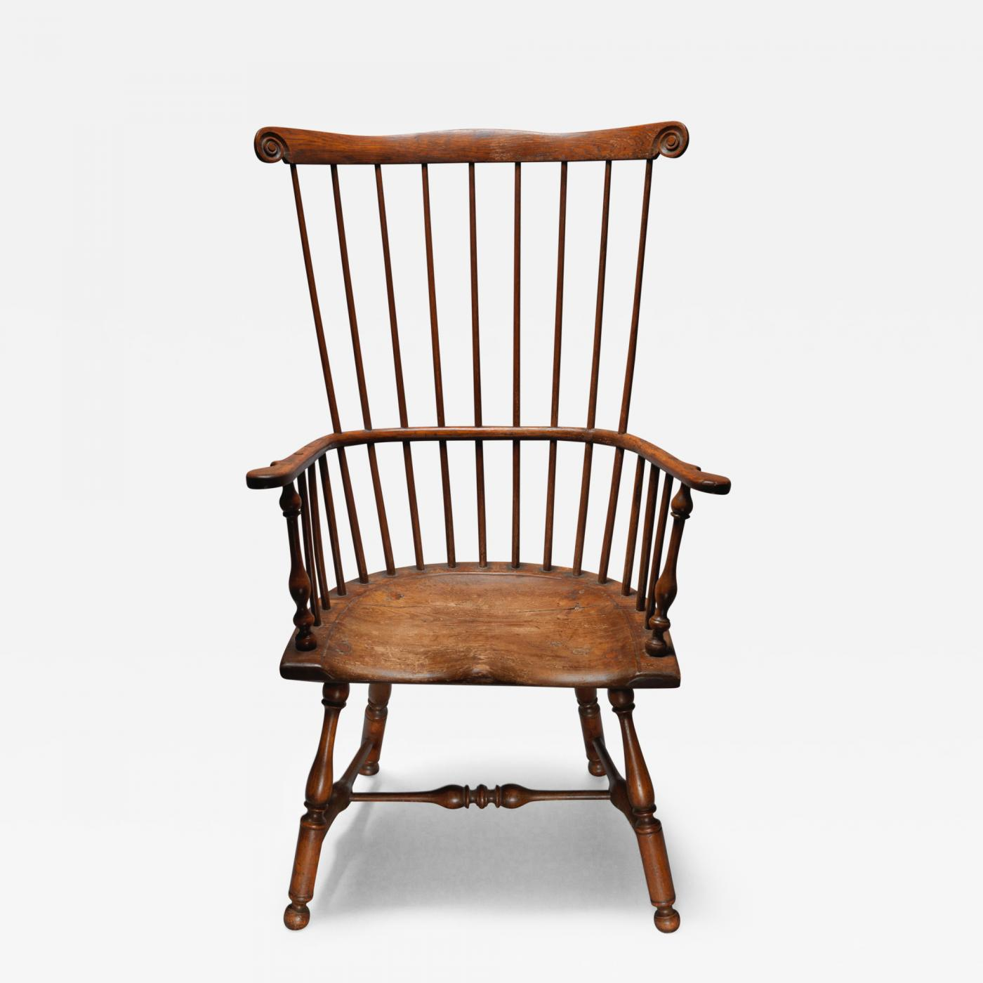 comb back windsor chair tri fold lawn target arm