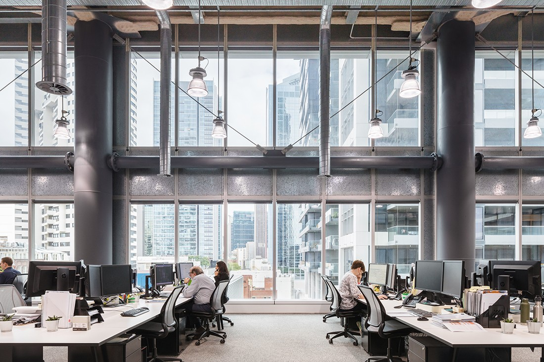 A warehouse in the sky Crone Architects office